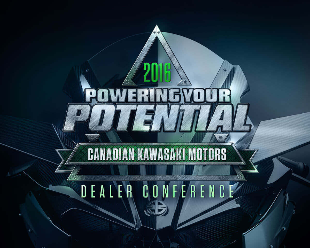 Kawasaki Dealer Conference Logo