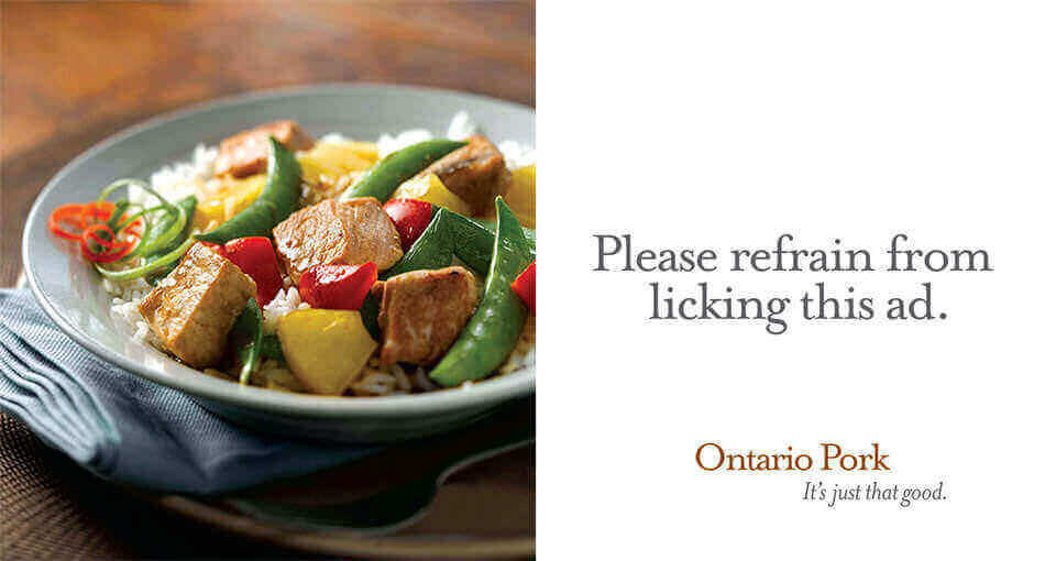 Ontario Pork Billboard